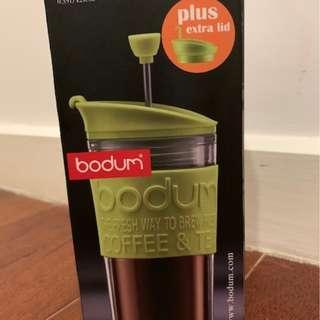 NEW&UNUSED - Bodum travel size coffee press (0.35 litre, 12 oz)