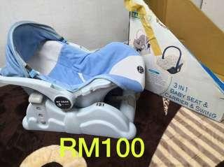 MY DEAR 3 in 1 baby carrier,swing and seat