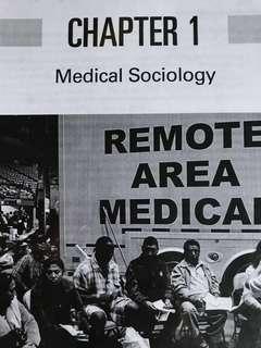 SC2211 Medical Sociology Textbook (Printed)