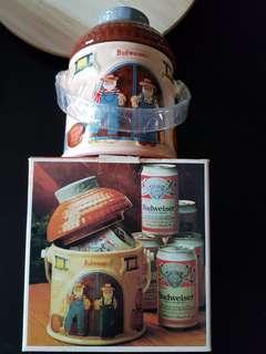 🌹BN BEDWEISER (ceramics) ice bucket with lid
