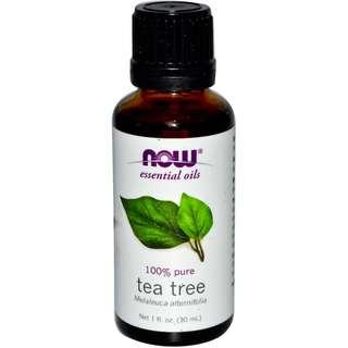 [Ready Stock] Now Foods Solutions 100% Pure Tea Tree Oil Melaleuca 30ml