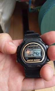 🚚 102 #一百均價 JAGA M121 電子錶 夜光 鬧鈴 碼錶 星期
