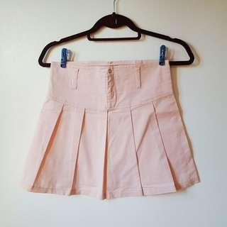 Baby pink tennis skirt