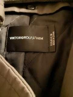 [秋冬型人必備] 激罕 Viktor & Rolf x H&M trench coat men V&R CDG 長褸