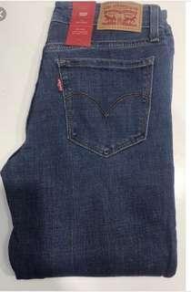 🚚 全新牛仔褲 便宜售出 levi's 711 skinny