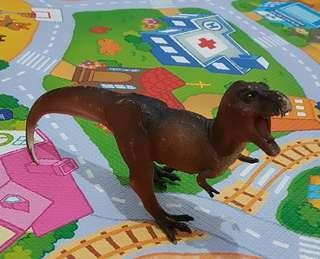 Dinosaurus Tyrannosaurus coklat