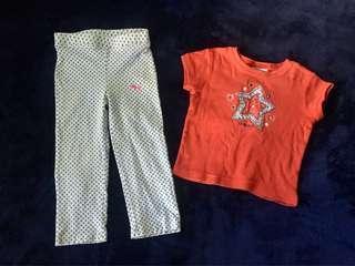 ‼️Sale‼️Toddler Girl Bundle Clothes (2T)
