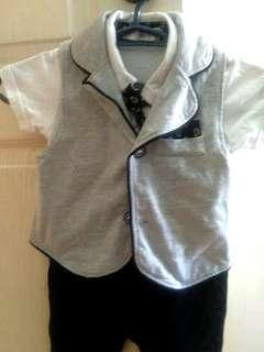 Formal wear set for toddlers