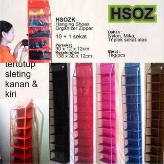 Rak sepatu zipper (HSOZ)
