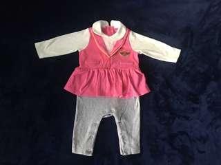 Babygirl Pink Romper