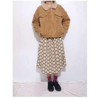 。error dot。泰迪熊柔軟鋪毛燈芯絨夾克外套