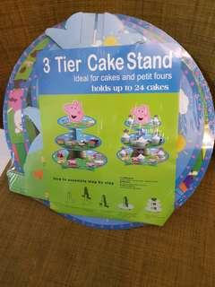 3 Tier Cupcake stand (holds up to 24 cupcakes)