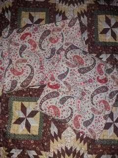 Baju kurung cotton saiz M