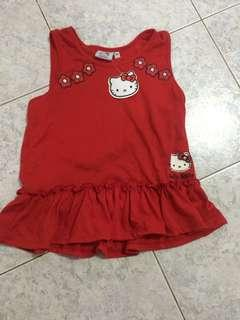 Hello Kitty Red Shirt