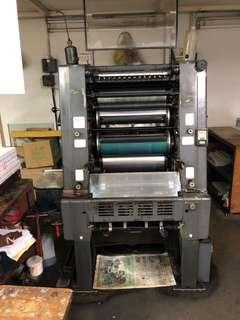 Used offset Heidelberg GTO 46 for sale or rent