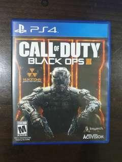 Call Of Duty Black Ops 3(negotiable)