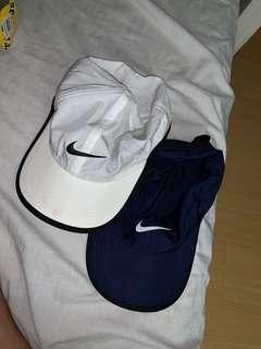 2 Nike Featherlight Dri-fit Cap