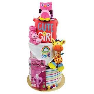HOLABEBE BABY HAMPER CAKE GIFT SET #2