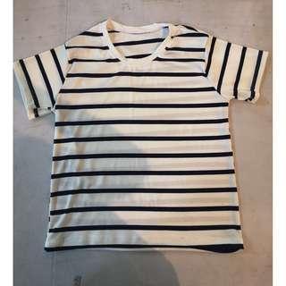 Stripe Blouse (White)