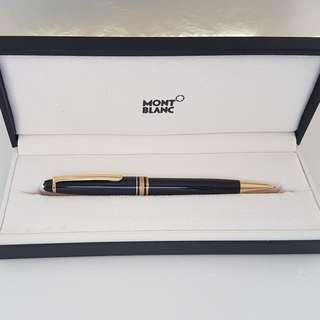 🚚 Rare Luxury MONT BLANC Designer Pen, Mechanical Pencil, Made in Germany, Avant-grade, Meisterstuck Pix model with Mont Blanc Box, Iconic, for Yuppies, Generation X, Street Fashion, Art Décor, For Fashion, For Collector, Funky, Groovy, Original, Authentic