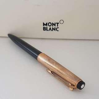 🚚 Rare Luxury MONT BLANC Designer Pen, Ballpoint Pen, Made in Germany, Avant-grade, No. 78 model with Mont Blanc Box, Iconic, for Yuppies, Generation X, Street Fashion, Art Décor, For Fashion, For Collector, Funky, Groovy, Original, Authentic