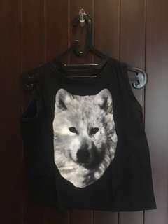 Tank top wolf
