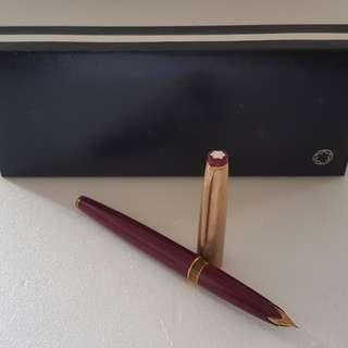 🚚 Rare Luxury MONT BLANC Designer Pen, Fountain 18K Pen, Made in Germany, Avant-grade, Meisterstuck 74 model with Mont Blanc Box, Iconic, for Yuppies, Generation X, Street Fashion, Art Décor, For Fashion, For Collector, Funky, Groovy, Original, Authentic