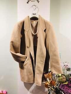 🚚 日本淺駝色氣質外套