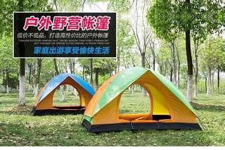 戶外New camping野營露宿單人防水防曬便捷帳篷Single tent