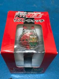 NEW AND SEALED! Official Masked Ride Den-O The Movie Commemorative Watch
