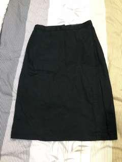 Forme black office skirt XS