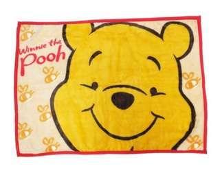 日本直送🇯🇵迪士尼Disney winnie the pooh 卡通人物限定多用途保暖毛毯 膝上毯 披肩 BB 被仔 現貨 Tsum Tsum