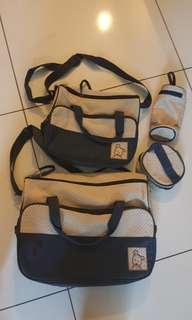Included postage 4 in 1 baby bag