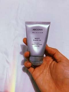 Brand New ARCONA Magic Black Ice Volcanic Exfoliating Mask