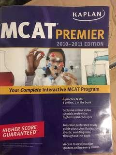 MCAT Preparation Guidebooks and Practice Questions 2010-2011