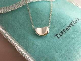 [專櫃真品]Tiffany&co小相思豆項鍊、九成新