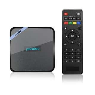 BEST ANDROID TV BOX FOR  MEDIA STEAMING - PENDOO X8 MINI 2GB/16GB Amlogic S905W
