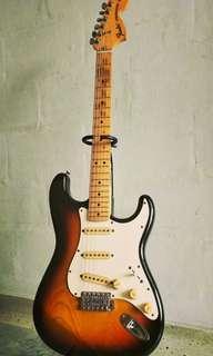 1989 Fender Japan Vintage Stratocaster ST-72 Sunburst, Electric Guitar