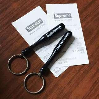 Supreme baseball bat Keychain