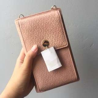 NEW ! Les Femmes Hp pouch baby pink
