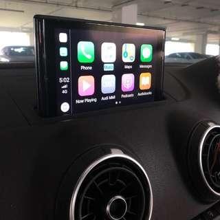 Wireless audi car play