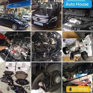 #Benz #B200 - 維修#引擎漏水、更換#水泵丶#水膽 - 更換前丶後正廠#剎車皮 - #風隔 - 更新#偈油連油隔 預約服務請電:31739102 Auto House Service LtdHK