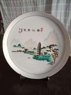Plate for Chinese tea cups