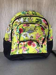 Just this week! Authentic Billabong Tropicana Floral Backpack