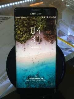 Samsung Note Fan Edition, Black, Mulus.
