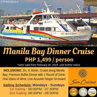 Manila Bay Dinner Cruise by Sun Cruises