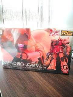 BNIB MS-06S Zaku 2 Real Grade