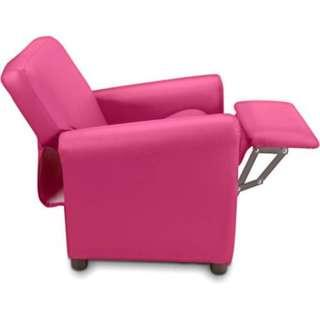 Crew Furniture Urban Child Recliners Pink Imported Furniture