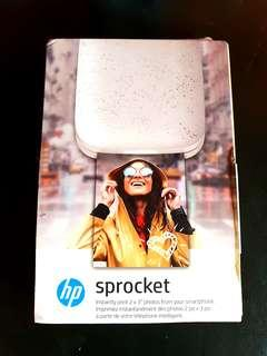 HP Sprocket portable printer new edition