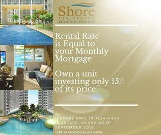 1 Bedroom Unit MOA Get it for as low as 20K Monthly and Rent it for 45K Monthly